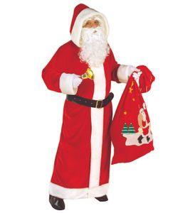 Santa Claus Kostüm  XL - XXL - Weihnachtsmann - Nikolaus SAMT Delux XL - 52/56