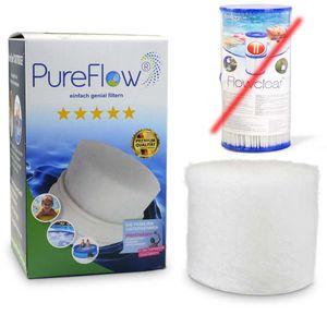Spar-SET> 6x PureFlow Filterkartusche ersetzt Bestway Gr. II Typ 58094