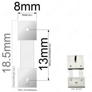 Pendelfeder für Standuhr, Großuhr Regulator 13mm Stiftabstand
