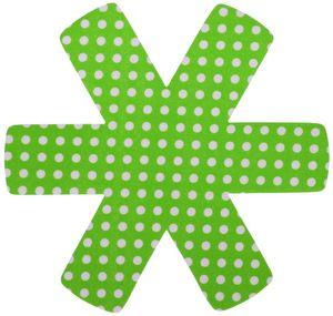 9 Stück culinario (3 x 3er Set) Pfannenschutz 38 x 38 cm, Stapelhilfe und Kratzschutz für Pfannen, grün