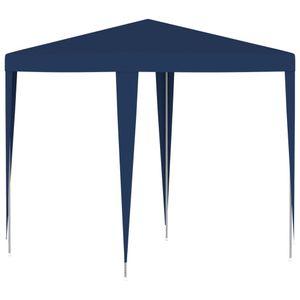 Pavillon Partyzelt 2 x 2 m Blau Faltpavillon wasserabweisend & stabil