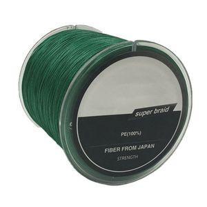 300M PE Weave 8 Stränge Geflochtenes Super-Angelschnurseil, Modell: 6, Durchmesser: 0,40 mm, grün