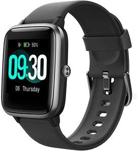 Smartwatch,1.3 Zoll Touch-Farbdisplay Fitness Armbanduhr mit Pulsuhr Fitness Tracker IP68 Wasserdicht Sportuhr Smart Watch mit Schrittzähler,Schlafmonitor,Stoppuhr für Damen Herren