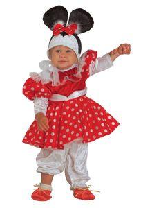 Mauskostüm Mäuschenkostüm Babykostüm, Größe:62