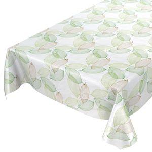 Laube Blätter Grün 100x140cm Wachstuch Tischdecke