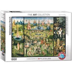 Der Garten der Lüste Puzzle Hieronymus Bosch, 1000 Teile