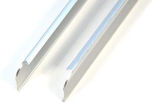 IHC Endleiste Winkelleiste Seiteleiste Arbeitsplatte Küche Links + Rechts Satz 28mm