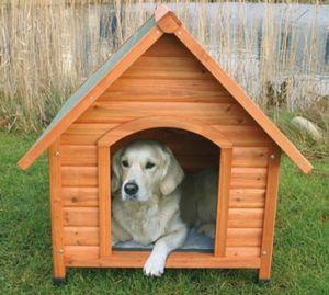 Hundehütte mit Satteldach TRIXIE Größe XL 96x104x112cm