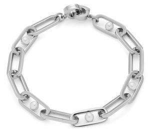 Leonardo 018410 Damen-Armband Marcellina Clip&Mix Edelstahl