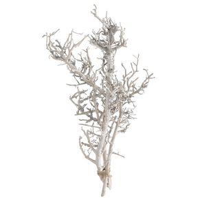 Dekozweige WHITE natur weiß Dekoäste H40cm Naturdeko Trockenblumen