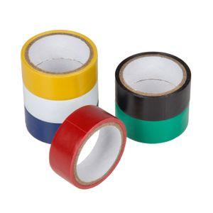 6 Rollen Isolierband - 19 mm x 18 m - verschiedenfarbig