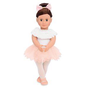 Our Generation - Valencia Puppe 46 cm Baletttänzerin mit gefiederten Rock