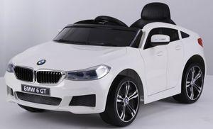 Kinder Elektro Auto Kinderauto BMW 6er GT FB USB Elektro Kinderfahrzeug , Farbe:weiß