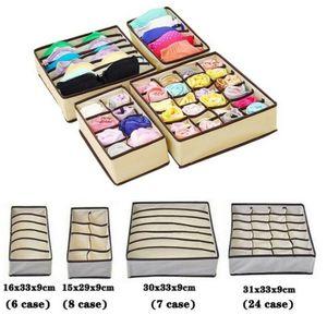 4* Schrank & Schublade Organizer für Bra Unterwäsche Socken Aufbewahrungsbox