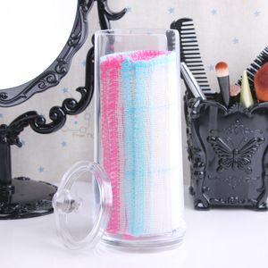 Acryl Make Up Wattepad Organizer Wattepadspender Aufbewahrungsständer Aufbewahrung Wattepad Box Kosmetikständer Behälter