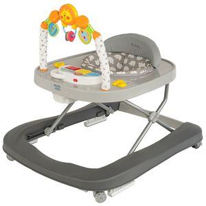 ib style® LITTLE LION Baby walker Gehfrei Lauflernhilfe Lauflernwagen abnehmbares Spielzeug mit Sound