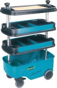 HAZET Werkstattwagen 162C m.4Fächern 725x398x1099mm blau