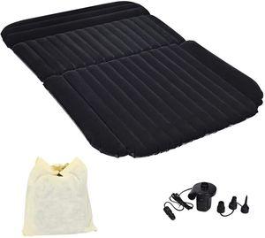 COSTWAY Luftmatratzen Autoluftmatratze Luftbett aufblasbare Auto Matratze mit 12V/40W Luftpumpe für Camping und Reisen