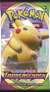 Pokemon SWSH4 Schwert & Schild 'Farbenschock' 1x Stück Boosterpack