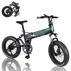 FIIDO M1 Pro 500W FaltbaresE-Bike Mountainbike, E-Trekkingrad Elektrofahrrad Fatbike Elektrofahrräder, 40 km/h, 48V 12,8Ah Mountain Ebike, 7 Gang Shimano Kettenschaltung - Pedelec MTB Hinterradmotor