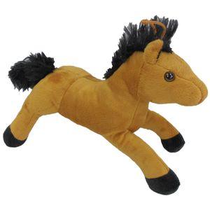 Pferd Pferdchen braun fuchs Plüschpferd Kuscheltier Teddy Plüschfigur 30cm