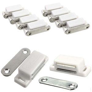 Türmagnet 8x Schrank Stopper Magnetverschlüsse Verriegelung Tür Schnapper Küche