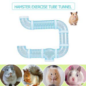 Hamster Tube Tunnel Spielzeug DIY Assorted Spielplatz Modul Spielzeug uebung fuer Hamster Maus und andere kleine Haustiere