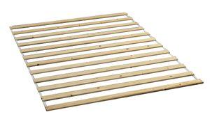 Lattenrost LASSE Kiefer Rollrost Rolllattenrost Bettrost Holzlatten Rost Latten, Maße:160cm x 200cm