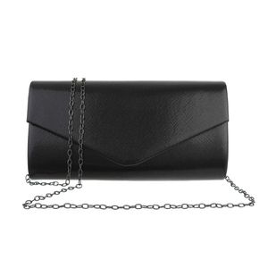 Ital-Design Damen Taschen Abendtaschen & Clutches Schwarz