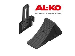 AL-KO 1 Unterlegkeil und 1 Halter Größe 20 - Kunststoff schwarz