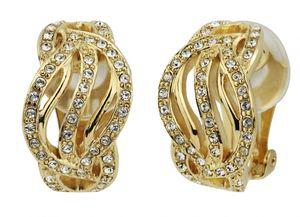 Traveller Ohrclip Damen 22kt vergoldet Swarovski Crystals - 157393