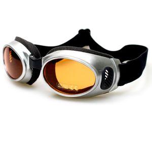 HEEZY Motorradbrille 453-S Sportbrille Chopper Motorrad Flieger Ski Fahrrad Brille