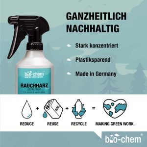 bio-chem Backofenreiniger Spray stark Rauchharz-Entferner Fettlöser Oven Cleaner Ofenreiniger für Backofen, Herd etc. 1000 ml Nachfüllflasche