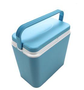 Kühlbox, Volumen 24 Liter, mit Tragegriff, Warmhaltebox, Isolierbox, für 6x2 Liter Flaschen, hält Temperatur ca. 8 Std.