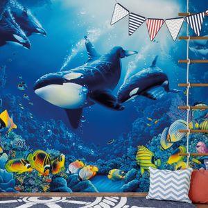 A.S. Création Papier Fototapete Unterwasser Blau Life's Delight DD118870 Tiere