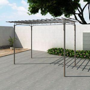 dereoir Stahl Pavillon Gartenlaube Gartenhaus Laube Gartenhaus