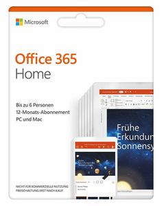Microsoft Office 365 - Home - CD-ROM-Eurobox