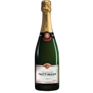 Taittinger Brut Réserve Champagner brut in Geschenkpackung Champagne Frankreich | 12 % vol | 0,75 l