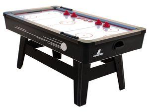 Cougar Hattrick Hero Airhockeytisch   Höhenverstellbarer Airhockey Tisch inkl. Zubehör (Pucks & Pushers)   Airhockeytisch mit Luft für Kinder und Erwachsene für Zuhause