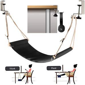 Fußhängematte, verstellbarer, praktischer Tisch und Fußhocker mit Kopfhörerhaken