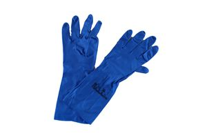 10x Ansell Virtex 79-700 Nitril Blau Gr. 7, Größe:7