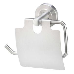 AMARE Toilettenpapierhalter Toilettenpapierrollenhalter mit Abdeckklappe