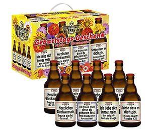 Bierundmehr Geburtstags Bier im 8er Geschenkkarton (8 x 0.33 l) (6,81 EUR / l)
