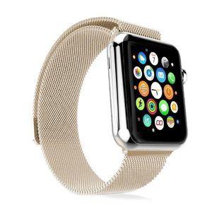 Magnetisches Milanaise Armband 42 mm aus Edelstahl für Apple Watch Serie 3 2 1 i