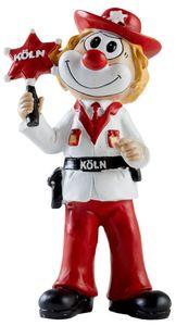 Die Schmitzens Clown Figur 'Veedels Sheriff' (20cm) Dekoration Karneval Kölle Köln