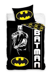 Batman - Wende-Bettwäsche-Set, 135x200 & 80x80 cm