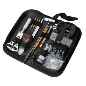 1 Satz Uhrenwerkzeug Uhrmacherwerkzeug Uhr Werkzeug Set Gehäuseöffner Uhrenarmband Reparatur Tasche