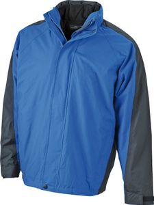 Jacke JN170 Two-In-One Jacket Multifunktionale Doppel-Jacke mit auszippbarer Fleecejacke , Größe:S, Farbe:Royal-Black