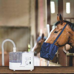 Mediware Ultraschall Inhalator für Pferde, stufenlos regulierbar, mit Beutel
