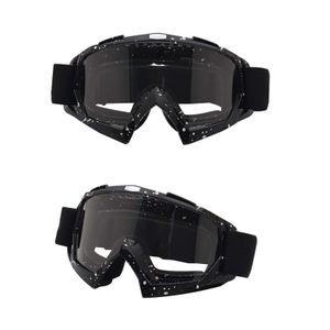 Motorradbrille Antibeschlagbrille winddichte Helmbrille mit Skibrille